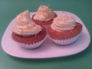 cupcakes de yogurt y limón